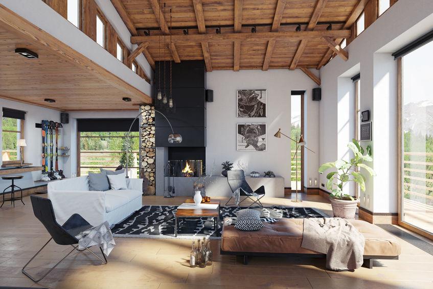 แผงเพดานไม้