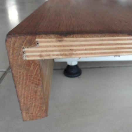 ไม้วิศวกรรมฐานไม้อัดและไม้ด้านบน